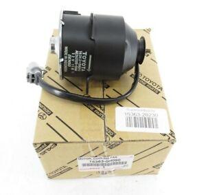 Genuine OEM Toyota 16363-28230 Engine Cooling Fan Motor 09-15 Venza 07-11 Camry