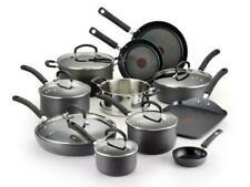 Tefal 2100093984 17 Piece Hard Anodized Cookware Set - Black