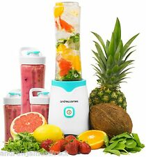 Andrew James Smoothie Maker/Blender with Bottles Included for Shakes/Drinks