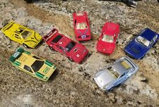 BMW M-1 BASF C-8 and other die cast cars