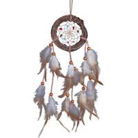"Black Dream Catcher Feather Native America Indian Bad Dreamcatcher Room 3.93"""