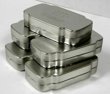 Lot of 5x Metal Tin Craft Storage Box Survival Kit Container