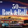 2CD 50 Chansons Rock & Roll Elvis Presley Fast Domino Chuck Berry Music