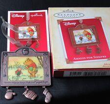 HALLMARK Ornament in Spanish AMIGOS POR SIEMPRE Friends Forever in Box(1ZOW)