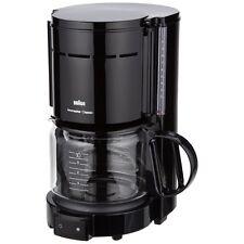 Braun domestic Home KF 47/1 negro filtro-cafetera 1000 W tropfstopp