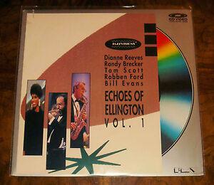 ECHOES OF ELLINGTON Vol 1 LaserDisc ~ TOM SCOTT ~ RANDY BRECKER ~ DIANNE REEVES