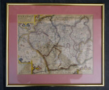 United Kingdom Copper Plate Antique Europe Sheet Maps