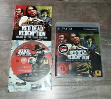 Red Dead Redemption Game of the Year Edition Sony PlayStation3 PS3 Rockstar GTA