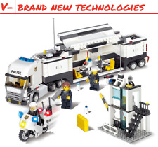 Police City Station Blocks Building Lego - Brand New  & Free Shipping