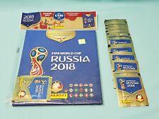 Panini WM 2018 Russia World Cup Hardcover Album  +  25 Tüten  Sammelalbum