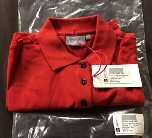 Genuine Seat Ladies Polo Shirt in Red - Size M. Ibiza,Leon,FR,Cupra