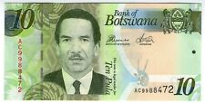 **   BOTSWANA     10  pula   2014   p-30d    UNC   **
