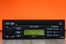 HYUNDAI TUCSON GETZ ACCENT COUPE MATRIX STEREO RADIO CD PLAYER VDDC0142090912