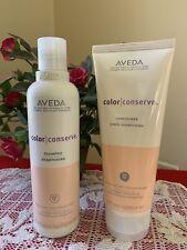 Aveda Color Conserve Shampoo 8.5 oz and Conditioner 6.7 oz