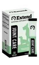 Extend Joint Care For Dogs, 30 Packets Glucosamine, Msm, Ascorbic Acid - New