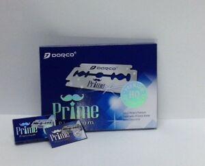 Dorco New Prime Platinum Double Edge Razor Blades | STP300 | 100 Blades