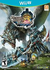 Monster Hunter 3 Ultimate Nintendo Wii U 2013 NTSC