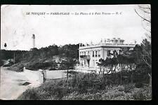 LE TOUQUET PARIS PLAGE-PHARES ET LE PETIT TRIANON 1910