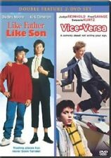 Like Father, Like Son/Vice Versa (DVD, 2008, 2-Disc Set) - NEW!!
