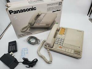 Vtg Panasonic Easa-Phone KX-T2440BE Telephone Auto-Logic desk prop recording box