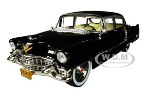 """1955 CADILLAC FLEETWOOD 60 """"THE GODFATHER"""" 1/24 DIECAST CAR BY GREENLIGHT 84091"""