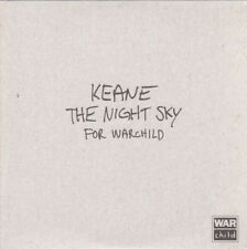 Keane - The Night Sky For Warchild Promo New CD Single Promotional War Child