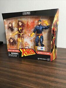 Marvel Legends ~ DARK PHOENIX / CYCLOPS 2-Pack Toys-R-Us Exclusive X-Men NEW!-A1
