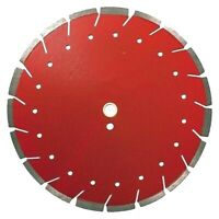 "14"" Diamond Blade Red X Cut Combo Blade for Concrete & Asphalt, Dry Wet"