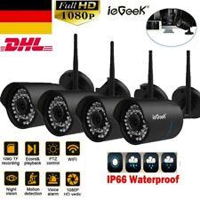ieGeek HD 1080P WLAN NETZWERK CAMERA AUßEN ÜBERWACHUNGSKAMERA CCTV DOOM IR CAM