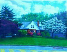 """Canvas Print (""""Garnerville's Landscape"""")"""