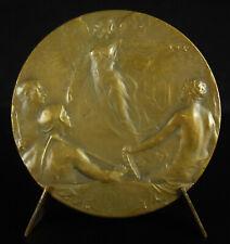Médaille officielle de l'Exposition de Charleroi 1911 Belgique sc A MAUQUOY