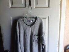 NFL Women's Green Bay Packers Game Day Clothing Co Knit Sweater Gray Size 2X