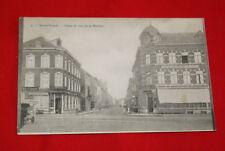 BELGIQUE SAINT TROND PLACE ET RUE DE LA STATION 1909 R626