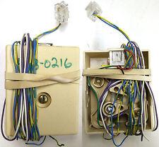 2 Pin RJ11 Modular Wall Jack Telephone DSL Plate Touch Tone Internet Plug Box