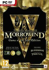 Elder Scrolls III Morrowind Game of the Year Edition PC NEW And Sealed