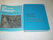 The Principles of Engineering Materials by W. D. Nix, C. R. B. Barrett and A....