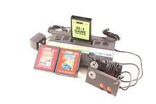 Atari 2600 Pal B Gerät mit Netzteil und Joystick Zubehörpaket und Spielen
