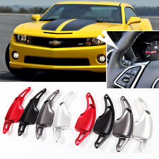 Steering Wheel Aluminum Shift Paddle Shifter Extension For Chevrolet Camaro 2016