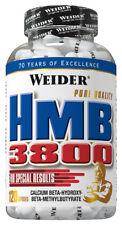 (19,28€/100g) Weider HMB 3800 120 Kapseln Vitamin C, Zink, Calcium