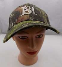BEAVER EXCAVATING HAT CAMO ADJUSTABLE BASEBALL CAP PRE-OWNED ST78