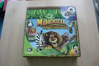 DREAMWORKS- MADAGASCAR- ANIMAL TRIVIA DVD GAME - FAMILY FUN EDUCATIONAL-TV GAME