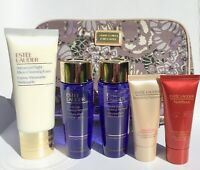 Estee Lauder 6 Pc Set Advanced Night Cleansing, Eye Makeup Remover, Nutrious