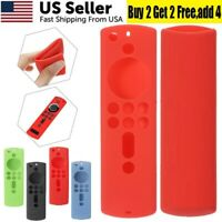 Silicone Shock Proof Case Cover For 2nd Gen Fire TV Stick Alexa Voice Remote USA