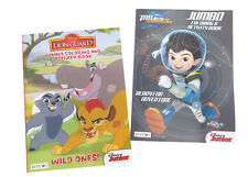 Miles From Tomorrowland, Lion Guard Kids Coloring Book Activity Books Disney Jr.