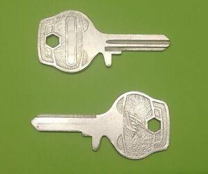2x Key Blank Blade Huf For BMW NK 1500 1600 1800 2000 Art. No 32322682126