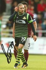 DONCASTER: ALFIE MAY SIGNED 6x4 ACTION PHOTO+COA