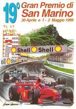AUTO_CORSA : 19° GRAN PREMIO DI SAN MARINO_FORMULA 1_Tiratura 300 cartoline !!!!