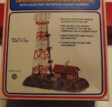 HO SCALE OPERATING RADAR STATION  MOTOR GREAR DRIVE NEW IN SEAL BOX RARE