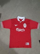 "Liverpool Fc Reebok 1996 1997 1998 Home shirt Vintage Size 38""-40"""