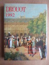 DROUOT 1992 - L'ART ET LES ENCHERES EN FRANCE. Les Editions d' l'Amateur.